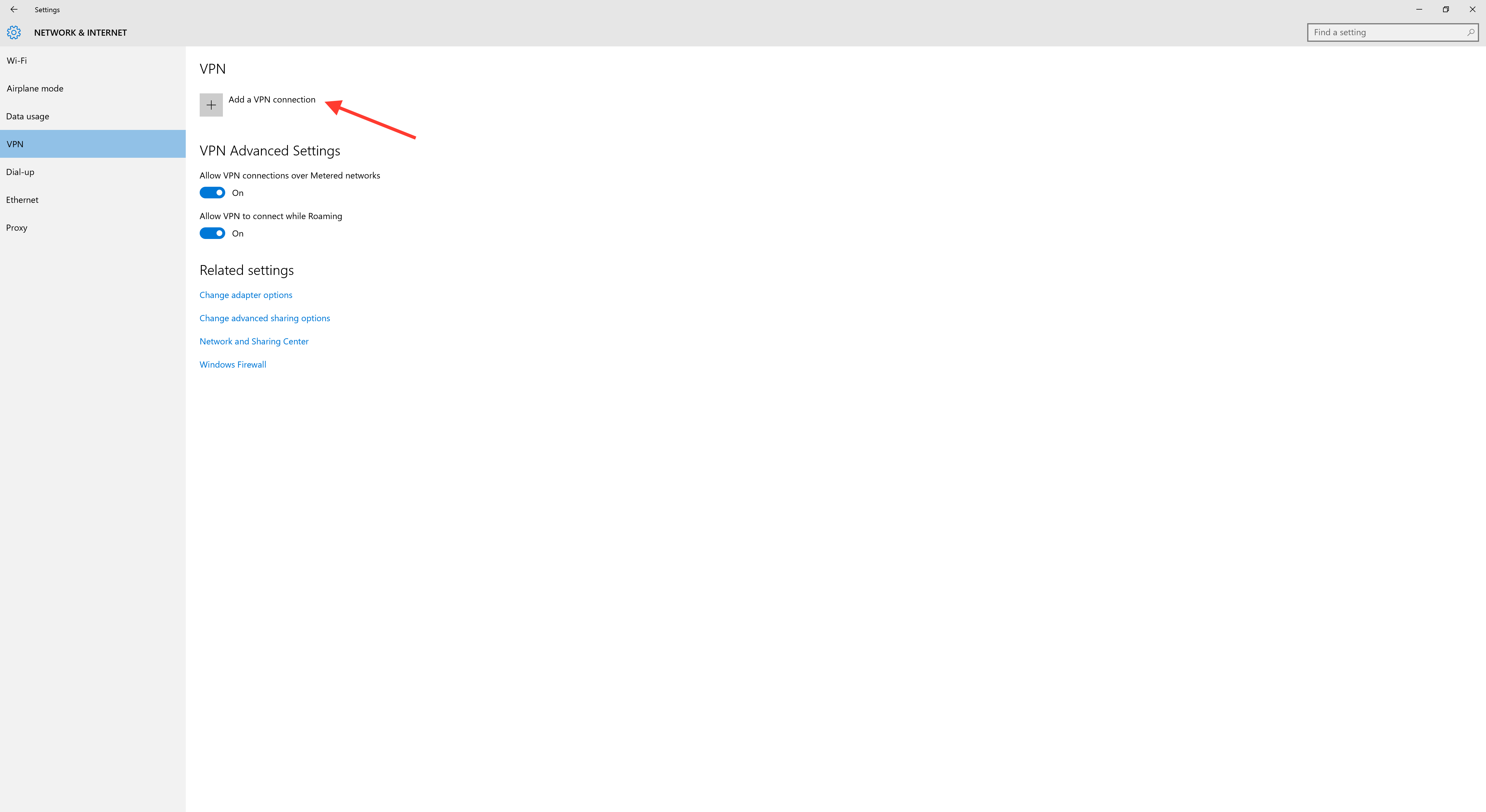 Windows VPN 2