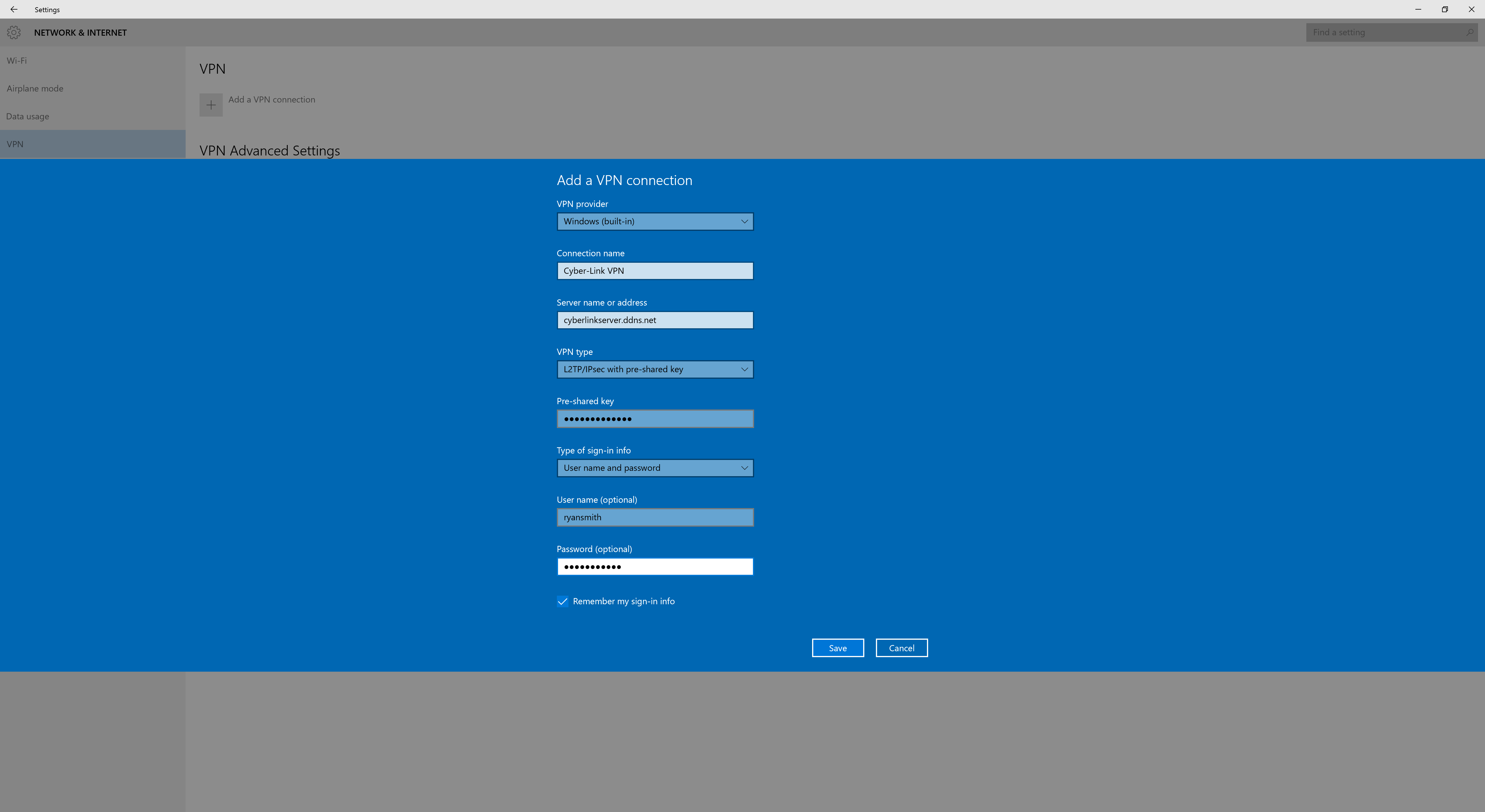 Windows VPN 3